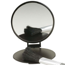 Specchietto nero personalizzato