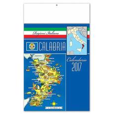 Calendario illustrato Calabria 2017