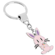 portachiavi in metallo personalizzato rabbit