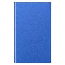 Powerbank in alluminio 4.000mAh - colore Blu Royal