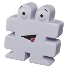 Antistress a forma di hashtag - colore Bianco