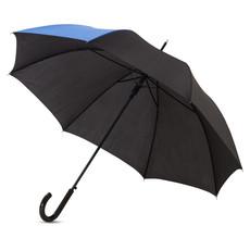 Ombrello colorato con uno spicchio in contrasto - colore Process Blu/Nero