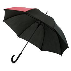 Ombrello colorato con uno spicchio in contrasto - colore Rosso/Nero