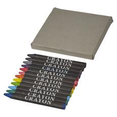 Set pastelli colorati 12 pezzi - colore Naturale