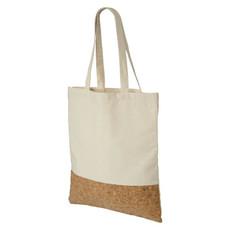 Shopper in cotone e sughero - colore Naturale