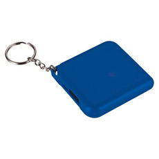 Powerbank 1800mAh tascabile con portachiave - colore Blu Royal