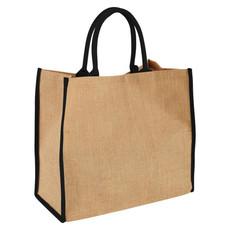 Shopper in juta - colore Naturale/Nero