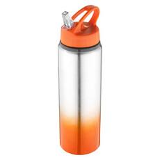 Bottiglia in alluminio 740ml - colore Arancio/Argento