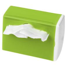 Dispenser per sacchettini da auto - colore Bianco/Verde Lime