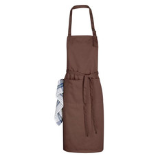 Grembiule da cucina regolabile - colore Marrone