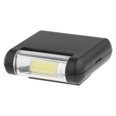 Luce COB lampeggiante - colore Nero