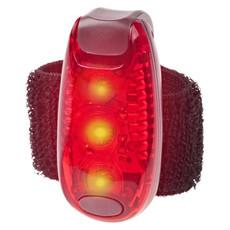 Luce riflettente di sicurezza sport - colore Rosso/Nero