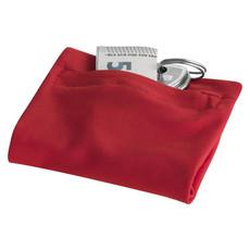 Polsino con tasca e zip - colore Rosso