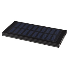 Caricabatterie portatile solare 8.000 mAh Stellar - colore Nero