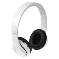 Cuffie pieghevoli Bluetooth con custodia - colore Bianco