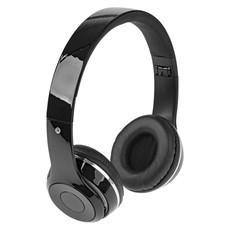 Cuffie pieghevoli Bluetooth con custodia - colore Nero