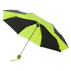 """Ombrello Spark 3 sezioni 21"""" bicolore - colore Nero/Verde"""