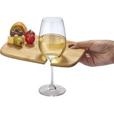 Vassoio in legno per vino e antipasto  - colore Legno