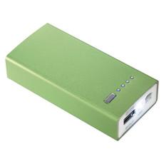 Powerbank 4000mah luce led - colore Lime