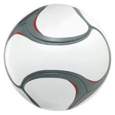 Pallone da calcio 6 pannelli - colore Bianco/Grigio
