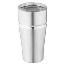 Bicchiere termico in acciaio e rame - colore Argento