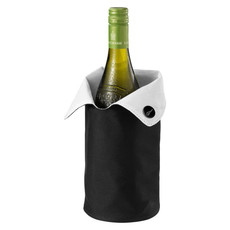 Borsa termica per vino - colore Nero Brillante/Bianco