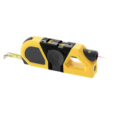Misuratore metro laser e livelle STAC - colore Giallo/Nero