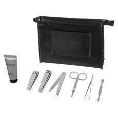 Set manicure con pouch personalizzabile - colore Nero