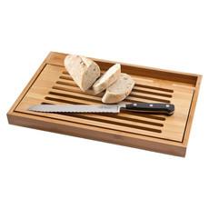Tagliere con coltello da pane - colore Legno