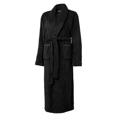 Vestaglia uomo in fleece morbido - colore Nero