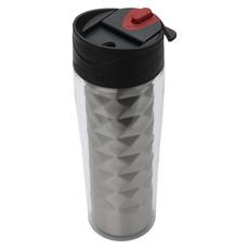 Bicchiere termico anti gocciolamento - colore Argento