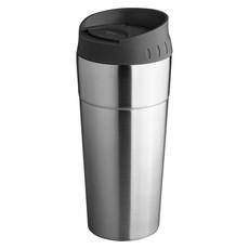 Bicchiere termico con tappo a pressione - colore Argento
