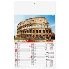 Calendario illustrato Roma 2020