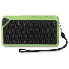 Speaker bluetooth rettangolare con microfono colore lime MO8728-48
