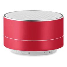 Speaker in alluminio con luce led sul lato colore blu royal