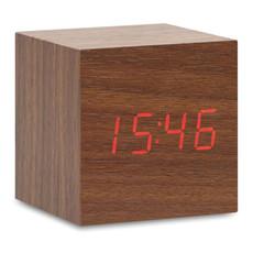 Orologio LED in MDF colore legno MO9090-40