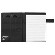 Porta blocco A4 con powerbank 4000 mAh colore nero MO9232-03