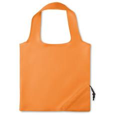 Borsa pieghevole con coulisse colore arancio MO9003-10