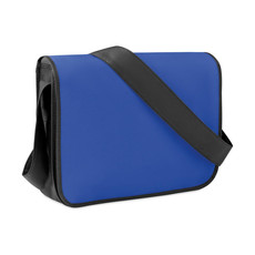Borsa porta documenti bicolore in TNT colore blu royal MO9295-37