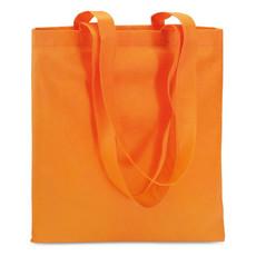 Borsa shopping in TNT colore arancio IT3787-10