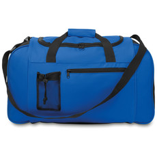 Borsa sportiva con zip colore blu royal MO9013-37