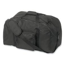 Borsone bicolore con tasca frontale colore nero KC5078-03