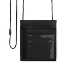 Portafogli a tracolla con zip colore nero MO9042-03
