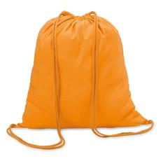 Sacca in cotone colore arancio MO8484-10