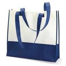 Shopper o borsa mare in TNT colore blu KC6540-04