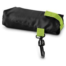 Shopper richiudibile con gancio in plastica colore nero IT2210-03