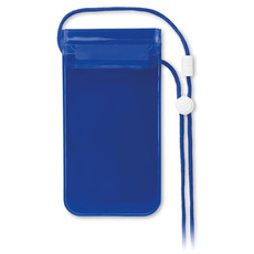 Cover per cellulare waterproof colore blu trasparente MO8782-23