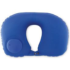 Cuscino da viaggio con pompetta integrata colore blu MO9234-04