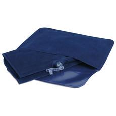 Cuscino gonfiabile da viaggio con custodia colore blu MO7265-04