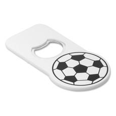 Apribottiglia a forma di pallone da calcio colore bianco MO8275-06